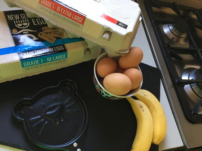 Gluten Free 2 Ingredient Pancakes