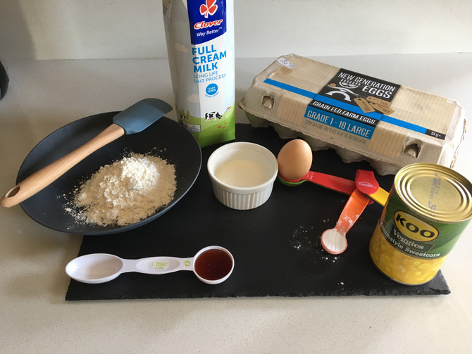 Quick and Easy SweetCorn Fritters