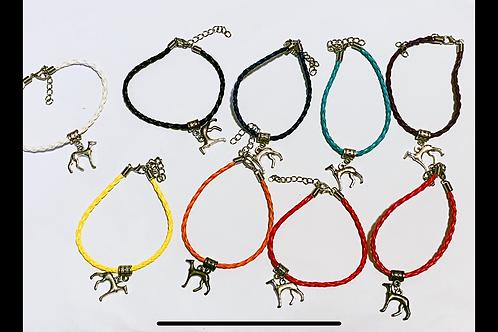 Greyhound sighthound bracelet