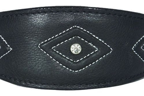 Diamond Stitch Design Leather Italian Greyhound, Greyhound Co