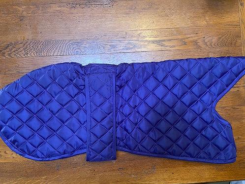 "Purple waterproof quilted coat size 24"""