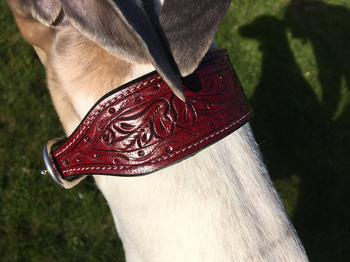 Arragon High quality hand crafted sighthound collar