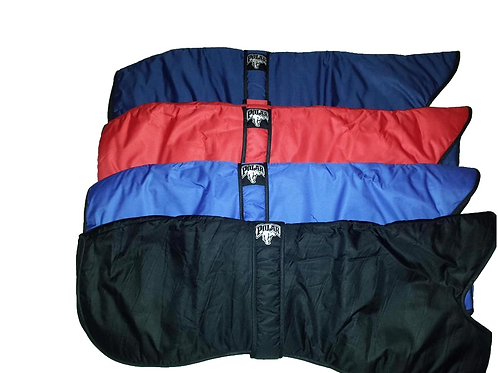 Padded water proof greyhound coats fleece lined