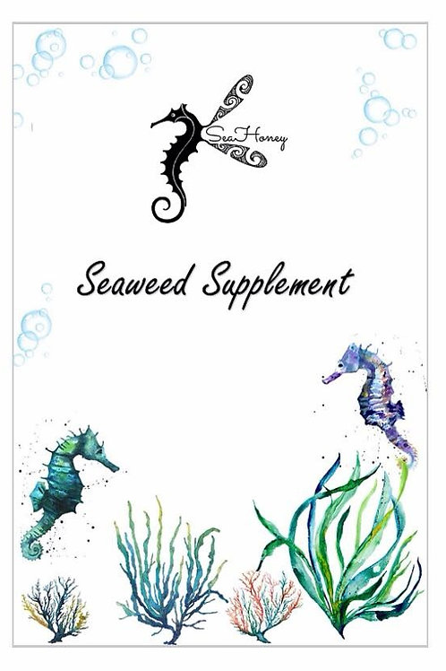 SeaHoney seaweed supplement for teeth, nails and hair 1 per customer limit)