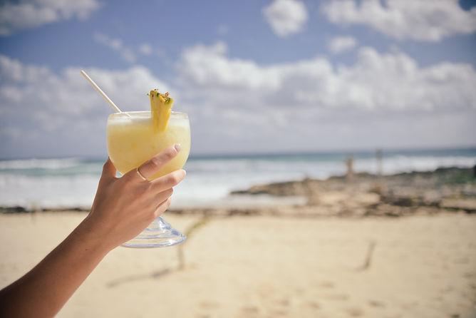 Pina Colada Craft Drink Bushwacker Beach Bar Cocktail Alcohol