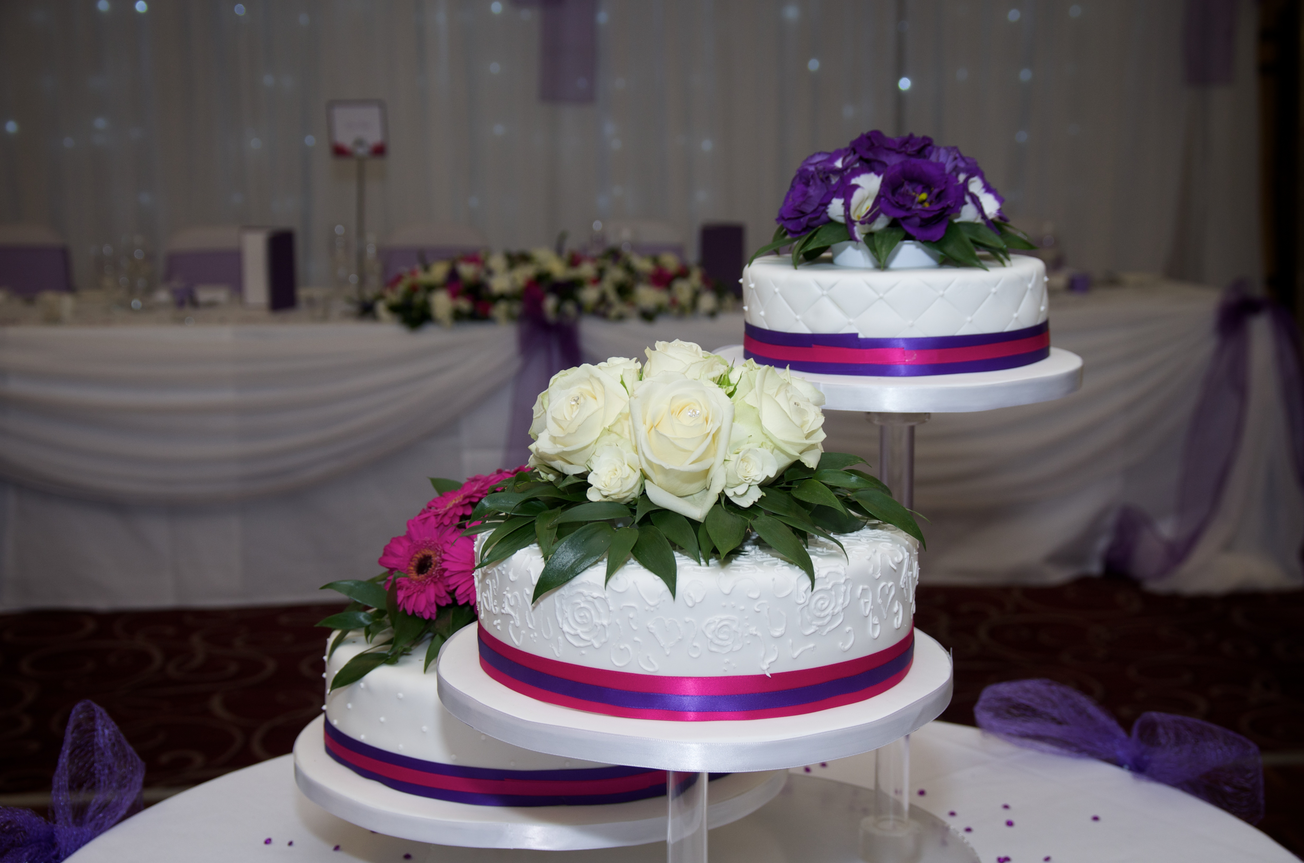 Nicole & Richard Wedding Cake