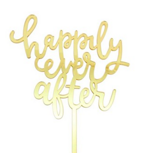 Happily Ever After Topper