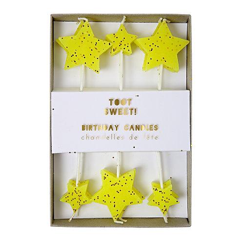 Velas de Estrellas