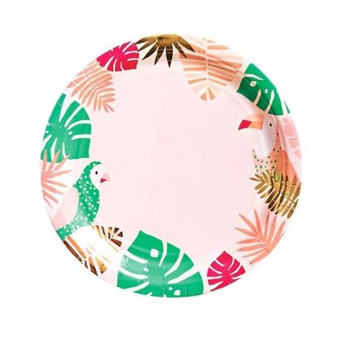 Platos Tropical Pink grande