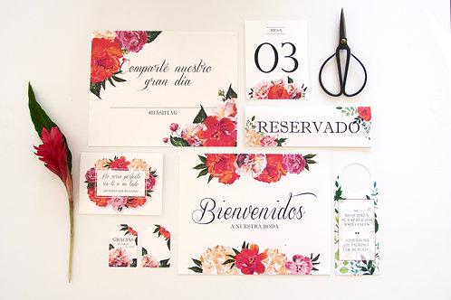 Floral Wedding Kit
