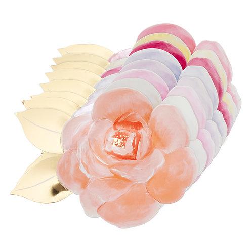 Platos de Rosas