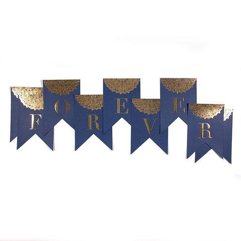 Forever Navy Banner