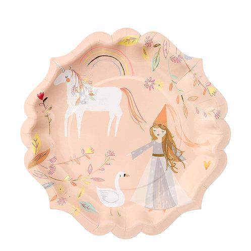 Platos de Magical Princess Grandes
