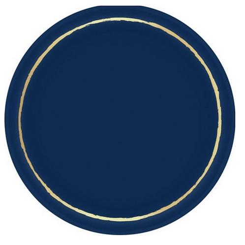 Platos Navy and Gold