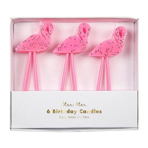 Velas de Flamingos
