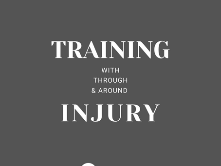Training With, Through and Around Injury.