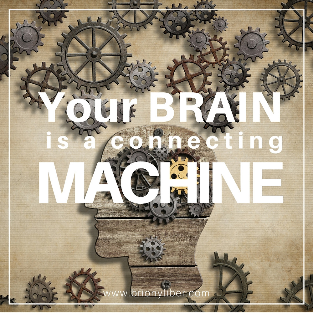 Your brain is a connecting machine