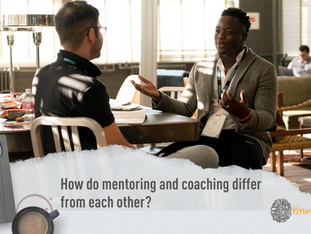 How is coaching different to mentoring?