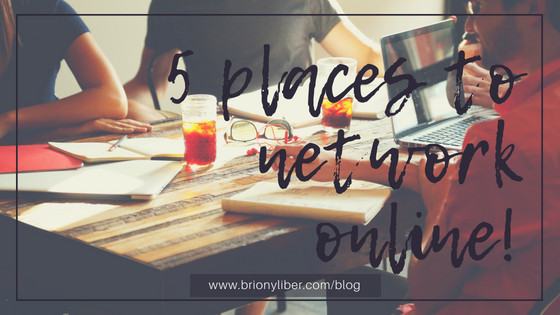 5 places for online networking