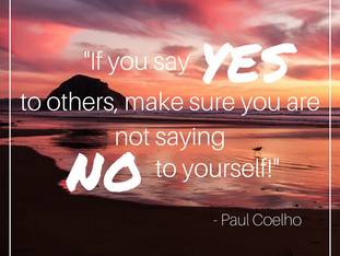When you say yes, what are you having to say no to?