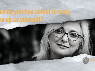 What thinking traps are stopping you from feeling safe to be yourself?
