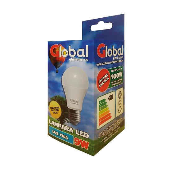 Lámpara Led Fría de 9 Watts