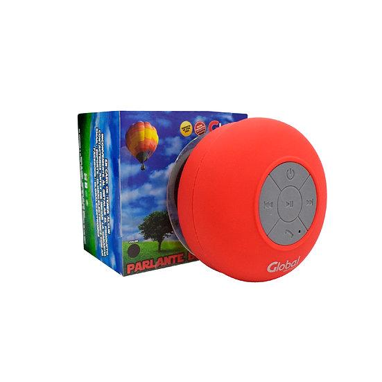 Parlante Bluetooth a Prueba de Agua - Rojo