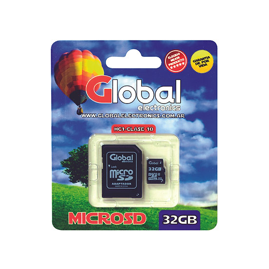 Memoria Micro SD 32GB - Clase10