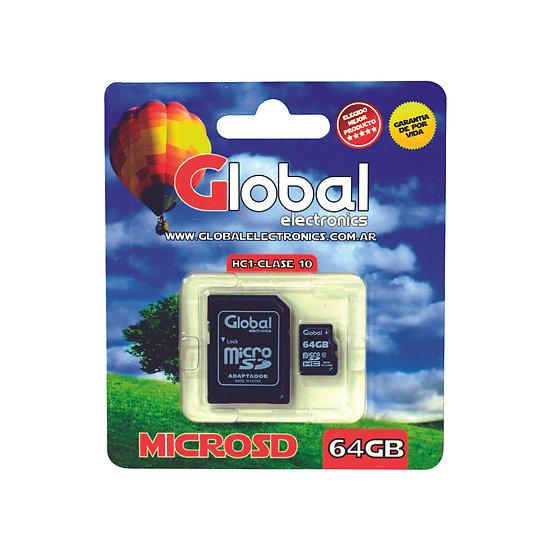 Memoria Micro SD 64GB - Clase10