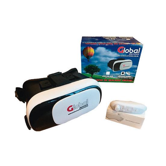 Gafas de Realidad Virtual VR con Control Remoto Bluetooth