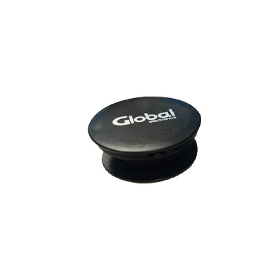 Soporte para Dispositivos Móviles Autoadhesivo - Negro