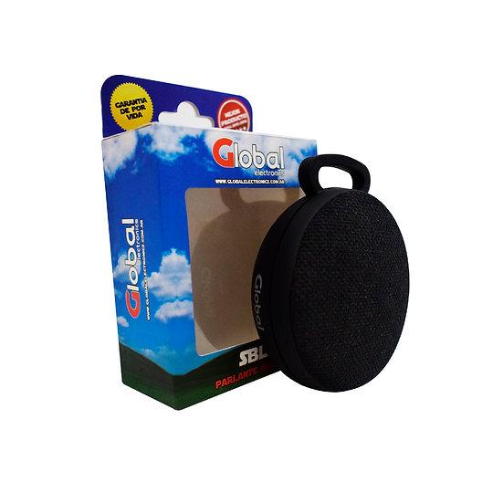 Parlante Bluetooth Premium Redondo - Negro