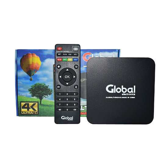 TV Box Android 7.1 Ultra HD 4K