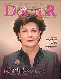 North Florida Doctor magazine October 2008 cover