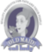 Old Maid Cat Lady logo