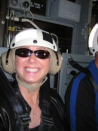 writer Lynn Thompson on Osprey