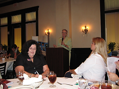 Lynn Thompson speaks to Professional Women's Council