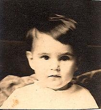Grace Thompson baby photo