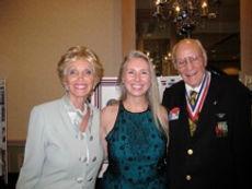 Lynn Thompson with Bill & Barbara Roy