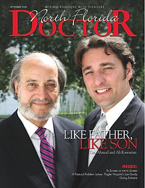 North Florida Doctor September 2008 Cover