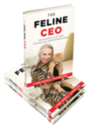 The Feline CEO book by Lynn Maria Thompson