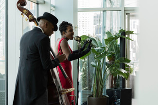 Photo of Jazz Performers.