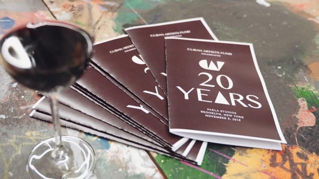 20 years Cuban Artist fund