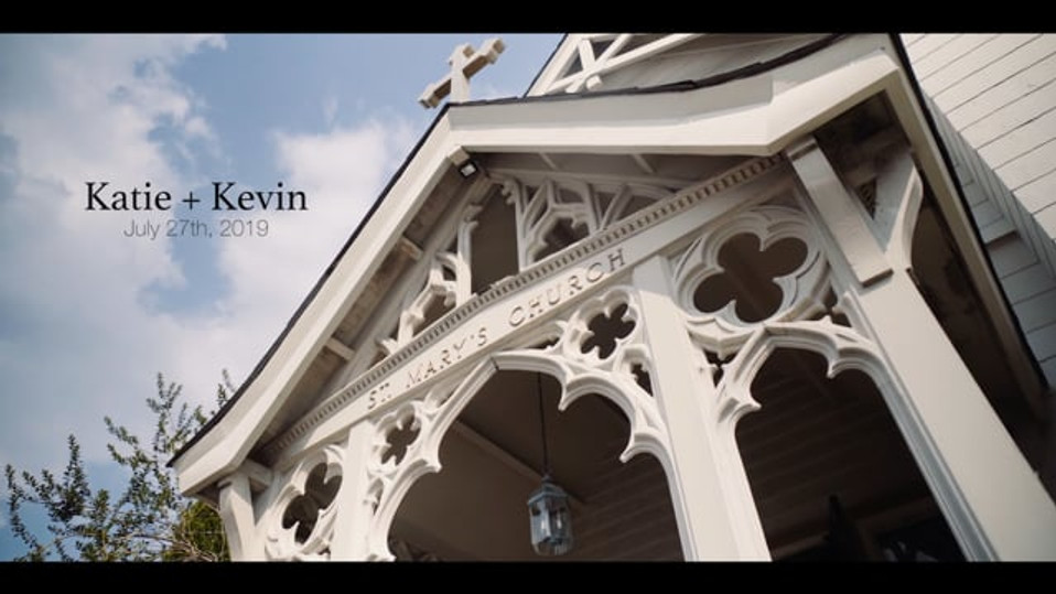 Wedding video for Katie + Kevin