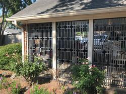 Metal Porch Window