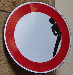 I loved the road signs in Florence Italy, a lot showing a touch of humour_edited.jpg