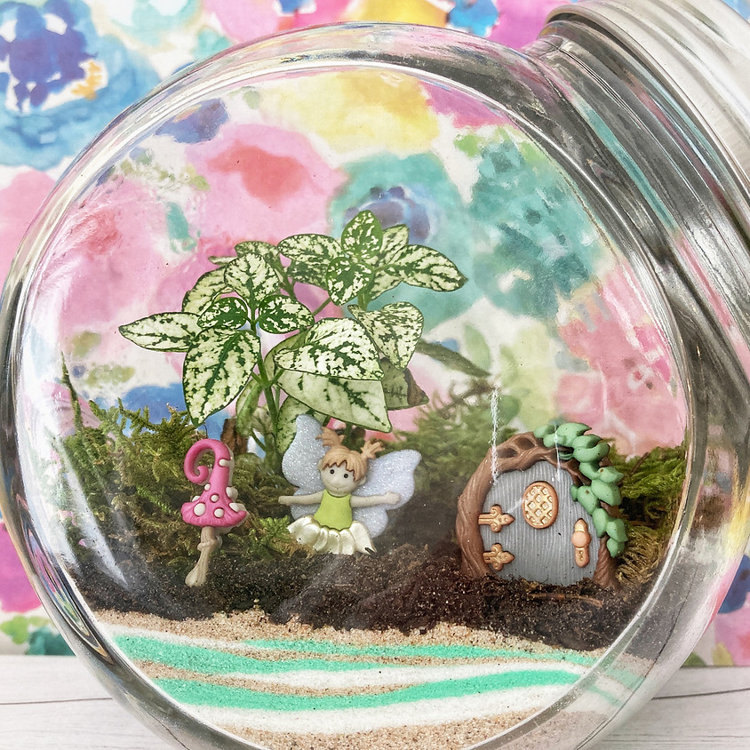 Fairy Garden Terrarium Class