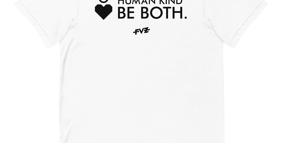 Humankind Be Both. IV Unisex Tee By FVZ
