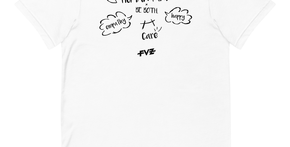 Humankind Be Both. III Unisex Tee By FVZ