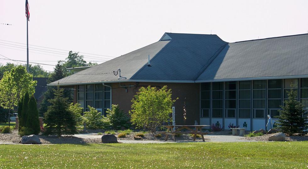 Peace Garden/New School - Grades 5-8, Pre-K, KG, Main School Office and Parish Office
